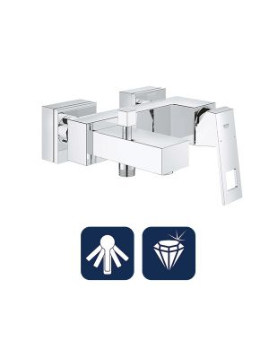 Eurocube Single-lever bath/shower mixer