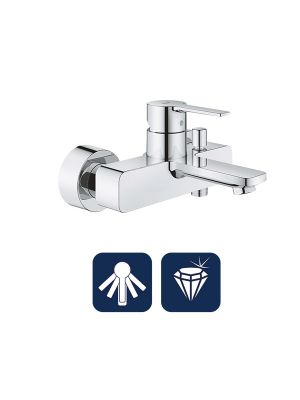 Linear Single-lever bath/shower mixer